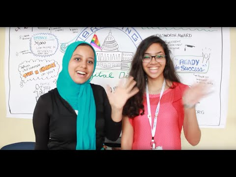 TechGirls from Egypt Share Their Impressions of Tech at Byte Back