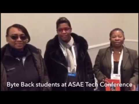 Byte Back Students at Their First Tech Conference