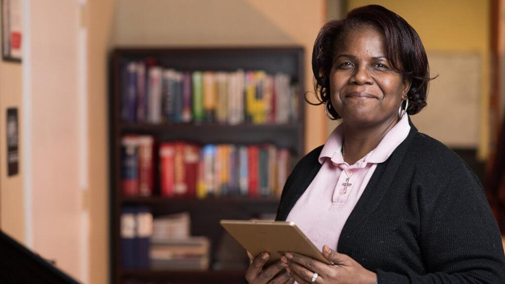 Alumna Selina Cook